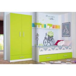 Dormitorio Juvenil. 297,8 cms.