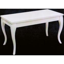 Mesa de centro Isabelina. 110x60. Blanco lacado.