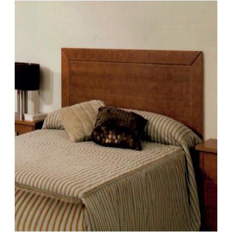 Cabecero para cama 90 105 135 y 150 madera cerezo - Cabeceros de cama en madera ...