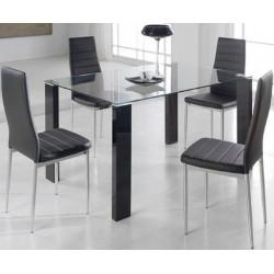 Conjunto Mesa 140x90 cm. y 4 sillas