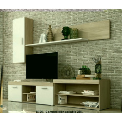 Mueble de salón 255 cm
