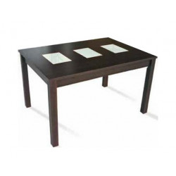 Mesa de comedor. 130x90 cms. Extensible 160.