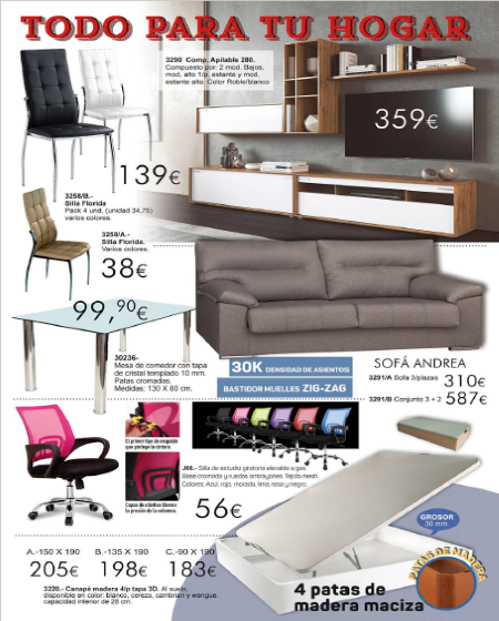Tienda de Muebles en Huelva y online - Muebles Tresilar