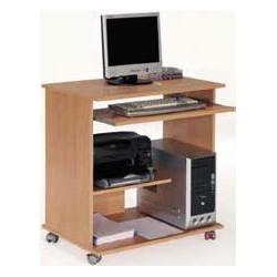 Mesa ordenador con ruedas.