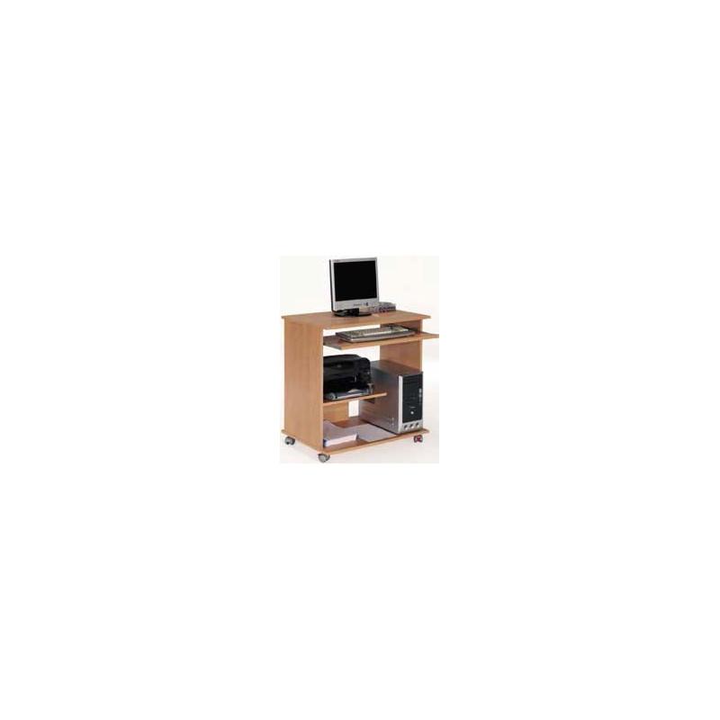 Mesa ordenador con ruedas muebles tresilar for Mesa de ordenador con ruedas