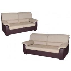 Conjunto de sofás 3+2 plazas.