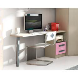 Mesa escritorio de 200 cms.