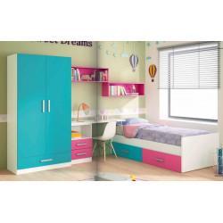 Dormitorio Juvenil. 300,8 x 199