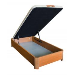 Canapé de madera con patas . 30 mm grosor. Tapa 3D.