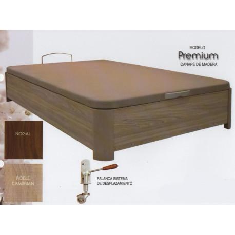 Canape de madera Premium. 35 mm grosor. Con patas.