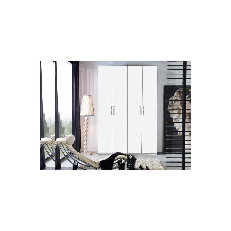 Armario de 4 puertas 160 x 240 x 60 con cajonera - Cajonera interior armario ...