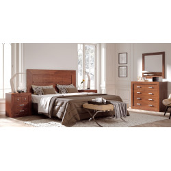 Dormitorio Completo. Madera.