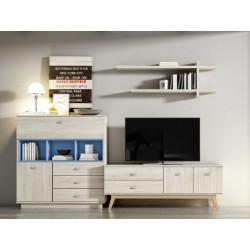 Muebles de saloón Sen 05B 280 centímetros.