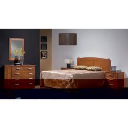 Dormitorio Completo. Madera. Cerezo.