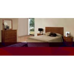 Dormitorio Completo. Madera cerezo.