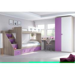 Dormitorio Juvenil Completo.