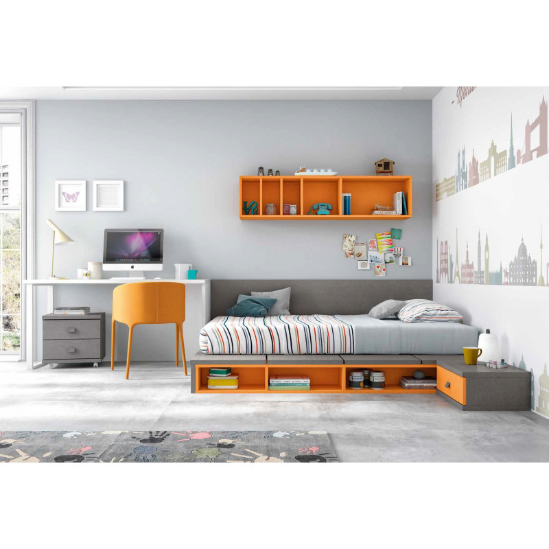 Dormitorio juvenil completo muebles tresilar - Dormitorio juvenil completo ...