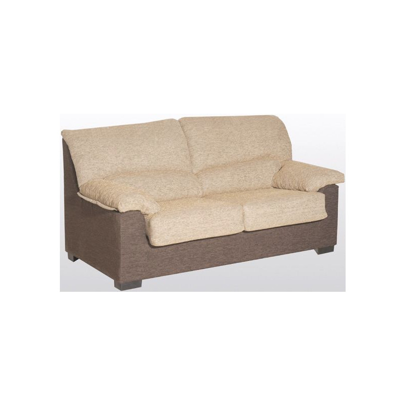 Sof 2 plazas 150x90 cm tresilar for Sofa 2 plazas polipiel
