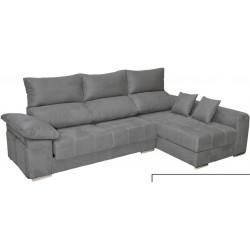 Sofá chaiselongue de 290 cm. Con Arcón