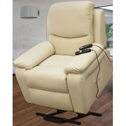 Sillón Relax eléctrico Levanta persona con vibración y calor.