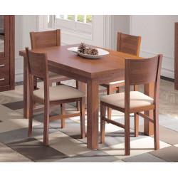 Conjunto Mesa extensible y 4 sillas
