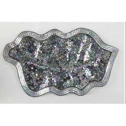 Centro mosaico 60 x 40 x 3 cm.