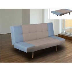 Sofá cama con sistema de apertura clic clac