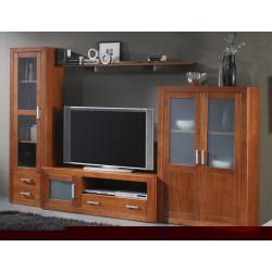 Composición mueble de Salón  306 cm estilo colonial