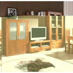 Composición mueble de Salón 320 cm estilo colonial