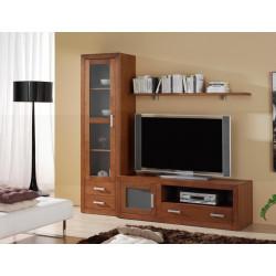 Composición mueble de Salón 206 cm estilo colonial