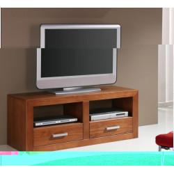 Mueble de TV de 120 con 2 cajones y 2 huecos