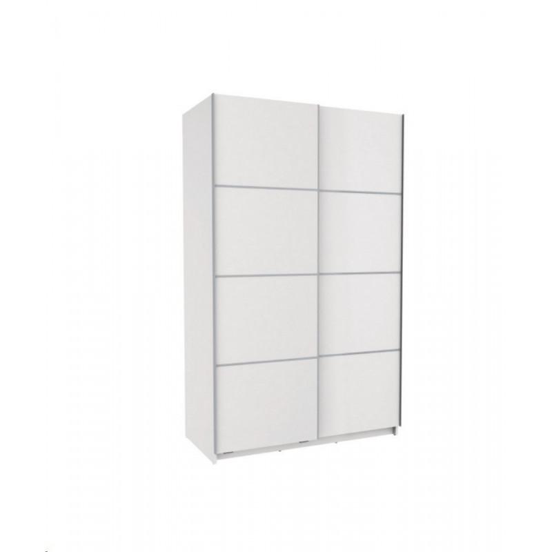 Armario 2 puertas correderas 120 blanco muebles tresilar - Armario 120 puertas correderas ...