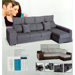 Chaiselongue 290 o 230 cm