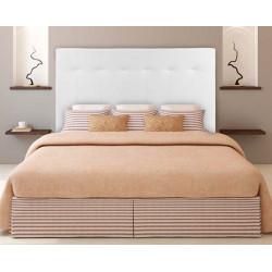 Cabecero tapizado en polipiel