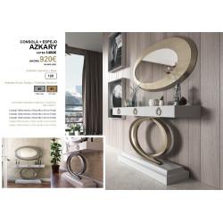 Consola + espejo Azkary