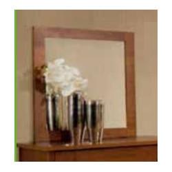Marco espejo. Madera Cerezo