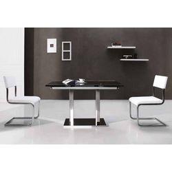 Mesa con dos extensibles. 120 (180) x 80 x 75 cm.
