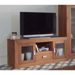 Mueble TV 2 pueras y 1 cajón. . Madera.