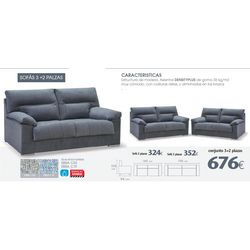 Juego sofás 3+2 plazas