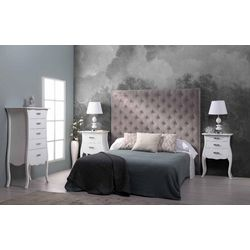 Dormitorio de matrimonio completo. Estilo Isabelino.