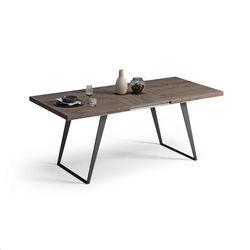 Mesa de comedor extensible Pata metálica. 120 x 90 cm.
