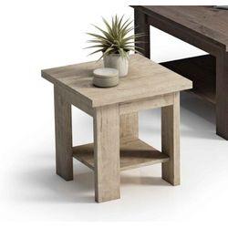 Mesa de rincón fija cuadrada 45 x 45 cm.
