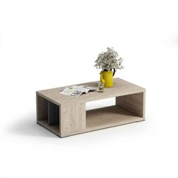 Mesa de centro cubo rectangular 100 x 55 cm