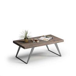 Mesa de centro pata metálica 100 x 55 cm.
