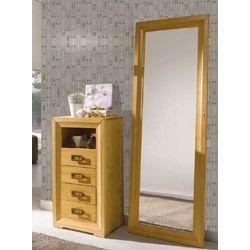 Consola 4 cajones +1 oculto y espejo