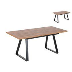 Mesa extensible con el sobre vinilado