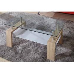 Mesa de centro. 100 x 60 x 42 cm.