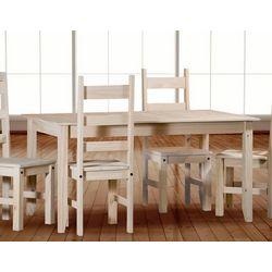 Mesa fija de 140x80 cm.