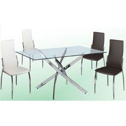 Conjunto de mesas y sillas modernas