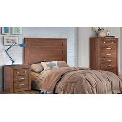 Dormitorio Juvenil rústico completo. Madera maciza.